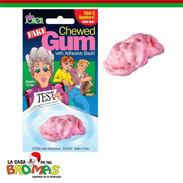 Gum Chewed